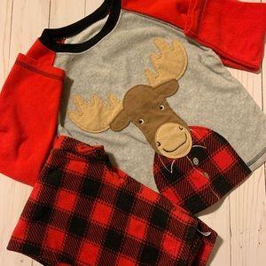 Moose and Plaid Pajamas